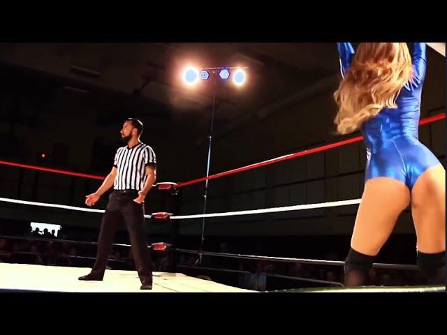 Reby's Revenge! Reby Sky Vs Cheerleader Melissa, Female Wrestling Squash Match