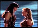 Xena y Gabrielle se besan The Quest 2x13