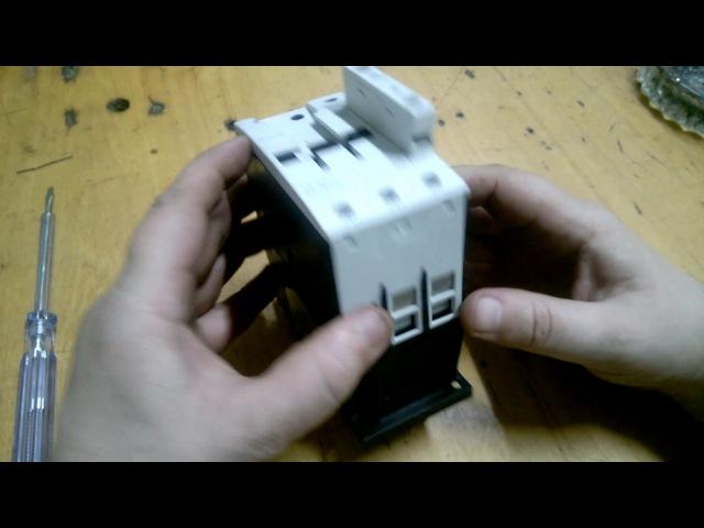 Самый подробный обзор магнитного пускателя EATON DILM-65