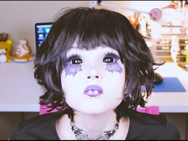 ★Spider☆Cutie Halloween Makeup Tutorial★