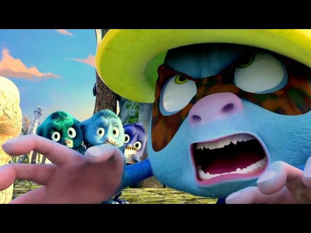 Джинглики - Все серии подряд (серии 1 - 5) - новые мультфильмы для детей
