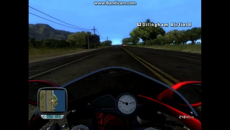 Игра TestDriveUnlimited 2008 - Розганяем мото до 300 км в час без аварий
