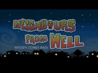 серия 2 - Как достать соседа Вуди возвращается! Neighbours from hell woody comes back