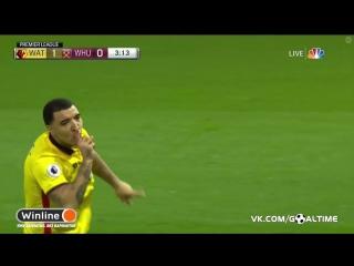 Уотфорд - Вест Хэм 1:0. Трой Дини