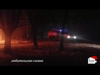 На Салтовке подожгли Lexus