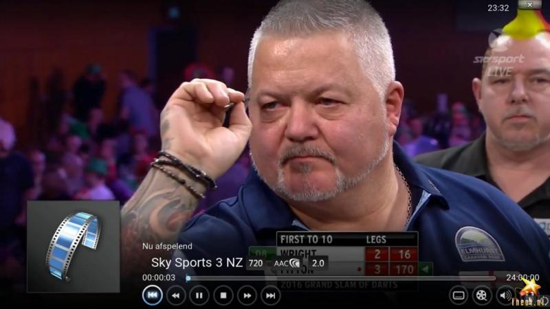 Peter Wright vs Daryl Fitton (Grand Slam of Darts 2016 / Round 2)