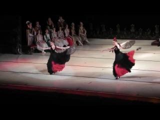 Балет Лебединое озеро. Испанский танец