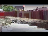 В Омске река Иртыш вышла из берегов и затопили улицы города