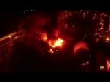 Пожар в Москве.Погибло 8 пожарных.
