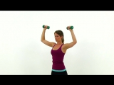 Руки тренировки - плечи, руки и верхняя часть спины