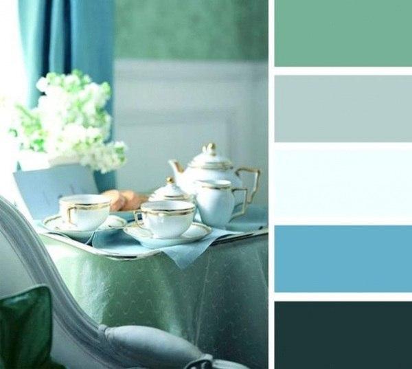 10 идеальных сочетаний цветов в интерьере.