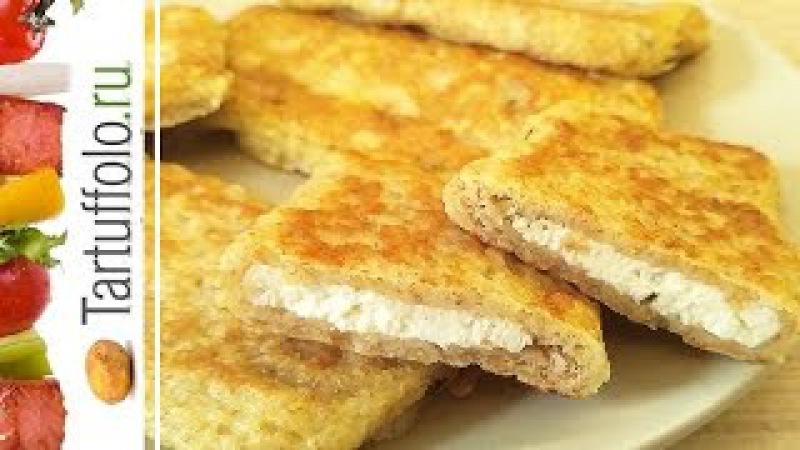 Быстрые пирожки бутерброды на сковороде