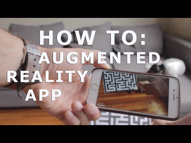 How To Augmented Reality App Tutorial for Beginners with Vuforia and Unity 3D