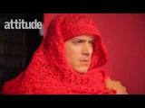 Wentworth Miller on the set of «Attitude Magazine» 2016