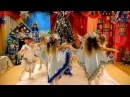 Новогодний танец Зимушки и Снежинок на полотне