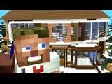 Диллерон и Миникотик - Смешной мультик без матов на русском (Minecraft Мультики)