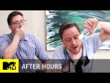 Office Erotic Asphyxiation w/ James McAvoy   After Hours   MTV