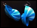 New Model weaving quilling earrings - how to make quilling paper earrings