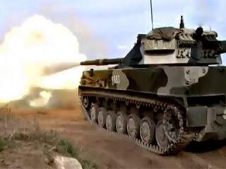 Спрут СДМ 1 новейшая самоходная противотанковая пушка