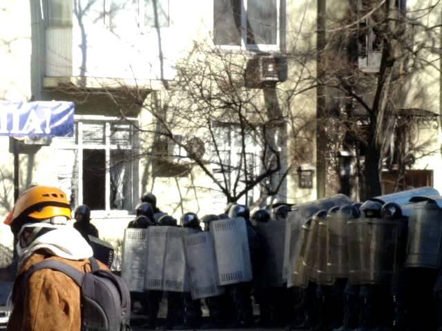 2 Бойові дії на розі Інститутської та Шовковичної 18 лютого