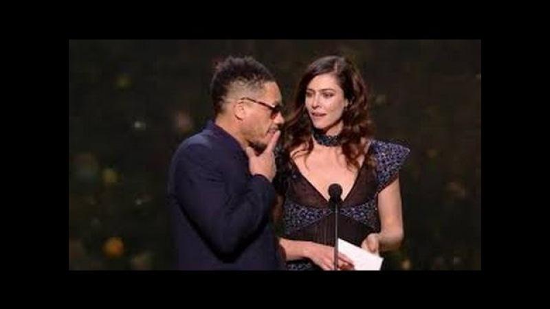 César 2017 : JoeyStarr se prend un énorme vent de la part d'Anna Mouglalis !!