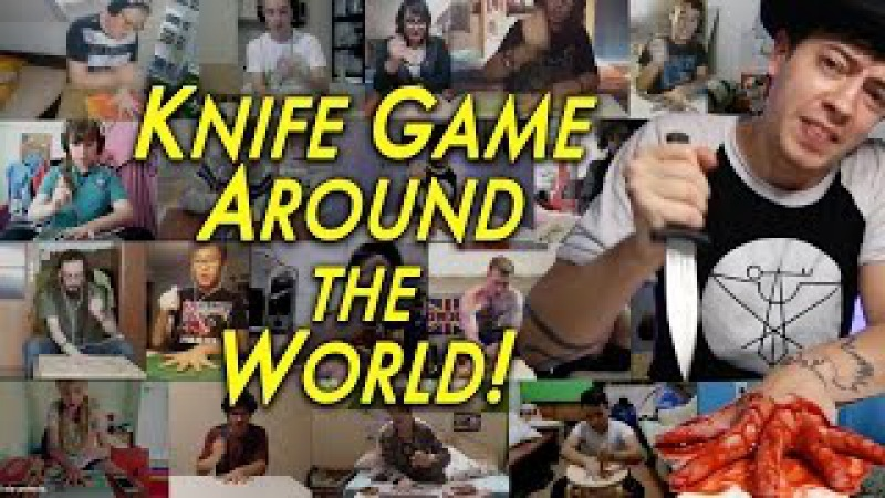 The Knife Game Song AROUND THE WORLD