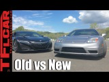 Old vs New: 2017 Acura NSX vs 2005 NSX On Road & On Track Mashup Review