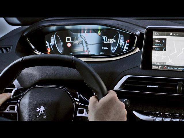 Peugeot 3008 (2017) INTERIOR with i-Cockpit