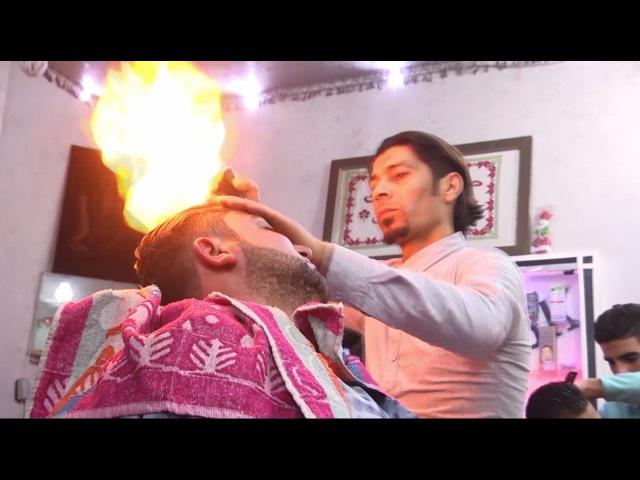 Стрижка огнём парикмахеры Сектора Газа решили по своему ухаживать за волосами