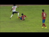 Gervinho Horror Foul in the Chinese Super League