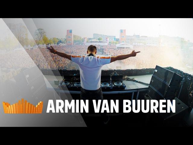 Armin van Buuren (incl 10 minutes old school set)   Live op 538Koningsdag 2017