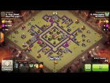 Ошибки в атаке на ТХ 8 со всеми вытекающими | Clash Of Clans