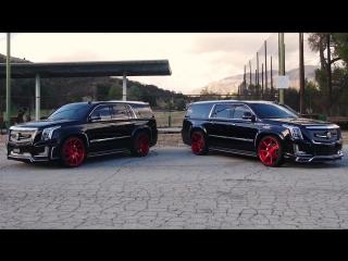 Cadillac Twin Escalades