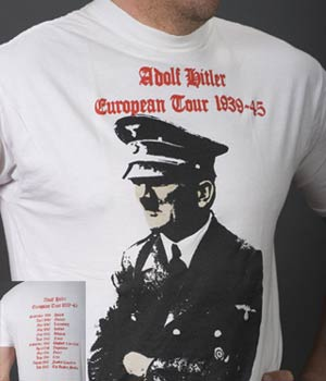 Житель Крыма арестован на 4 суток за ношение футболки с Гитлером
