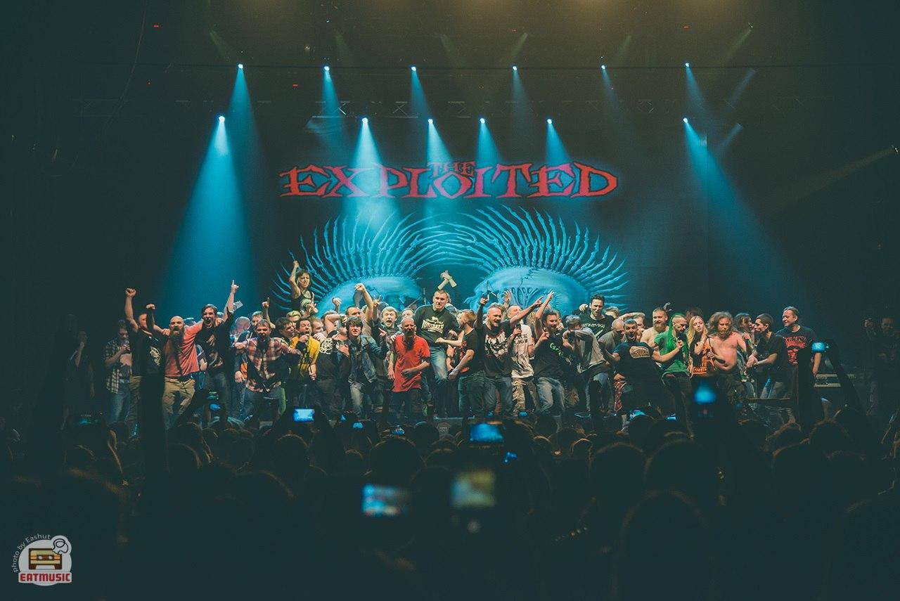Концерт The Exploited в Yotaspace 17 февраля 2017: репортаж, фото Екатерина Шуть