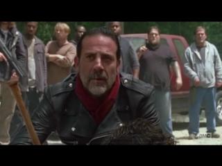 Дэрил Диксон и Ниган, 7х01, англ. (Daryl Dixon / Negan - The Walking Dead)