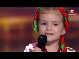 Вероника Морская - Квiтка-Душа - Невероятный голос перепела Нину Матвиенко в 5 л