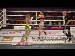 05. Jessica Gladstone vs. Daniela Graf (GLORY 33: New Jersey, Superfight Series)
