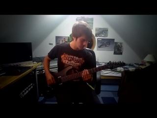 Justvidman - i am rich song (guitar rock cover)