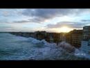 Волны наводнения Британии Сен-Мало