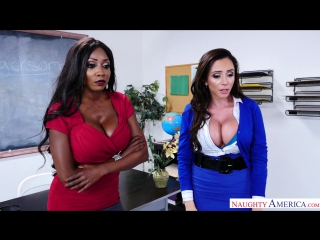 Diamond Jackson, Ariella Ferrera [HD 1080, all sex, big tits, stockings, new porn 2017]