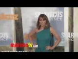 Lucy Lawless at Spartacus_ Vengeance Premiere ARRIVALS