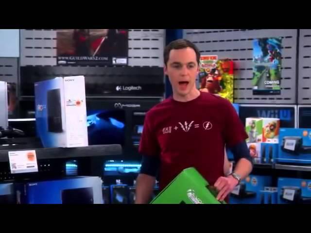 Что выбрать PS4 или Xbox ONE по версии Шелдона Купера (Теория большого взрыва)