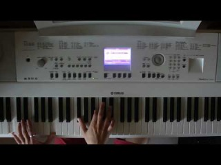Яна - одинокий голубь piano cover