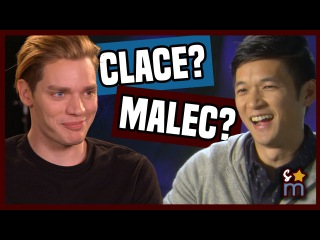 SHADOWHUNTERS Season 2 Interview: Clace, Malec & War for the Cup   Shine On Media
