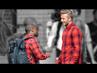 Kevin Hart and David Beckham H&M Road Trip full comedy movie