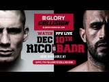 GLORY Collision: Rico vs Badr