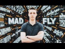 The Mad fly trailer hand lettering by Dima Lamonov