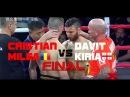 Davit Kiria vs Cristian Milea Kunlun Fight 58 Final